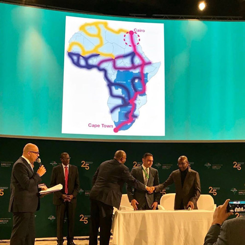 Telecom Egypt and Liquid Telecom announce MoU signing to enable completion of the first fibre network from Cape to Cairo