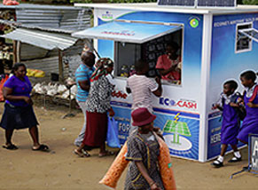 Econet Green Kiosk and  Space TV Campaign