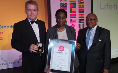 Econet's Strive Masiyiwa recognised with Lifetime Achievement award
