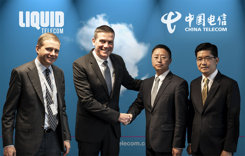 China Telecom Global and Liquid Telecom form landmark partnership to step up network collaboration between Africa and Asia