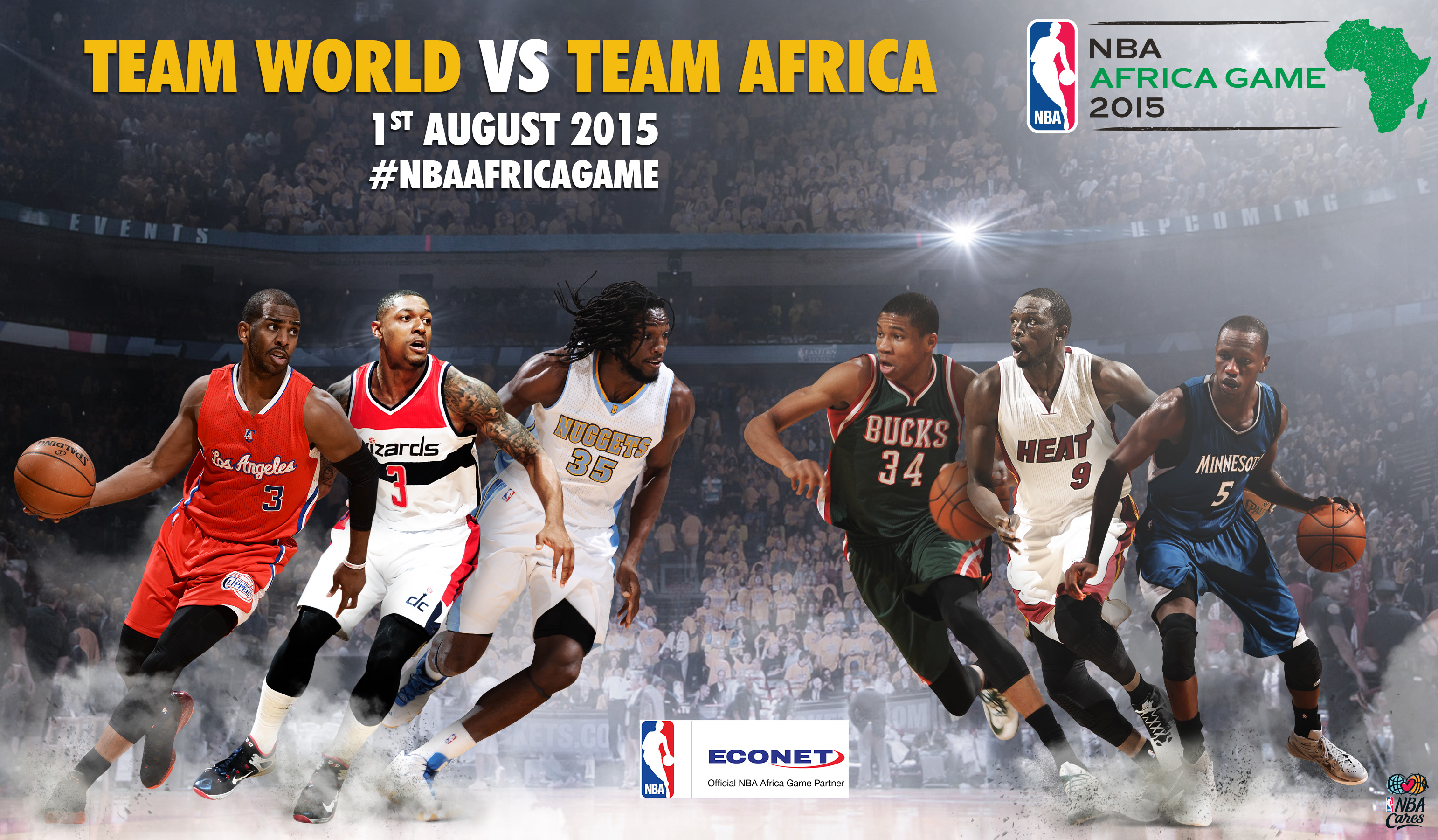 NBA's First Game In Africa Attracts World-Class Partners