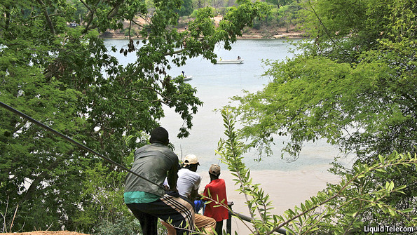 Cabling Africa's interior: Many rivers to cross