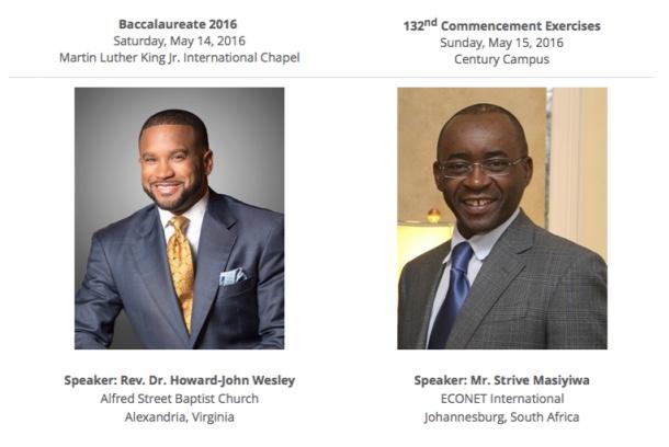 Strive Masiyiwa, Named as Morehouse College 2016 Commencement Speaker